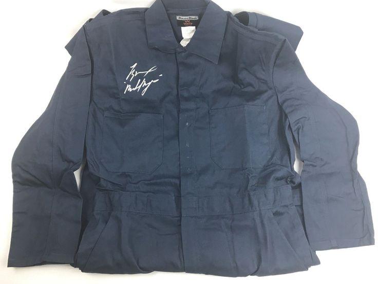 Tyler Mane Signed Mens Work Coveralls Autograph Michael Myers Halloween COA