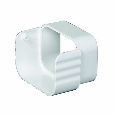 Amerimax 2 In X 3 In Vinyl Traditional Downspout Diverter