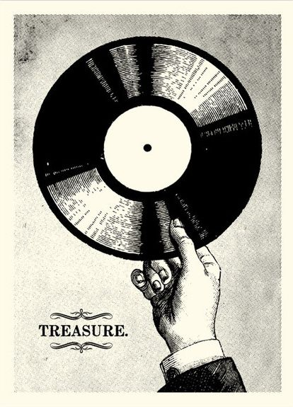vinyl. poster. #records #music #vinyl http://www.pinterest.com/TheHitman14/for-the-record/