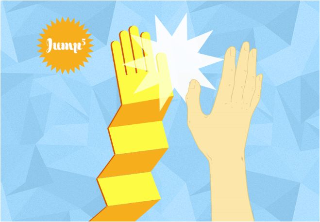 Idée 4 : le #Jump5. Toutes les explications sur ce #High5 ici : http://samsungmobilefrance.tumblr.com/