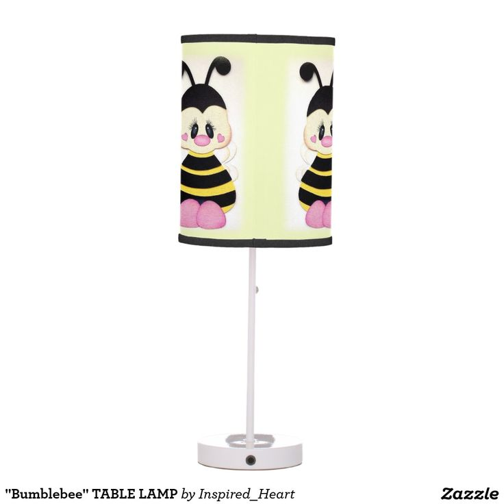 Shop Bumblebee TABLE LAMP Created By Inspired Heart