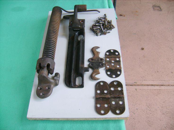 "Antique ""Singer""Sewing Machine Parts FOR Cabinet Restoration"