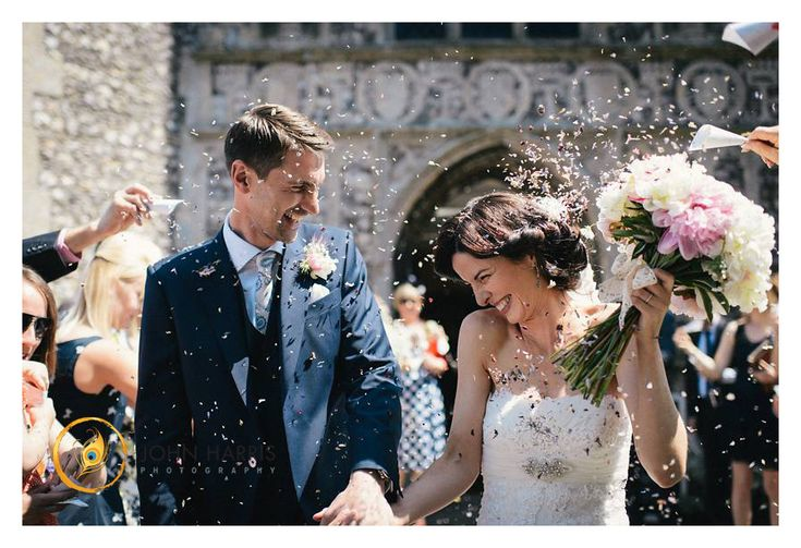 Confetti - A Wedding at Narborough Hall, Norfolk
