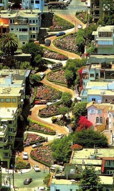 Lombaard Street, San Francisco