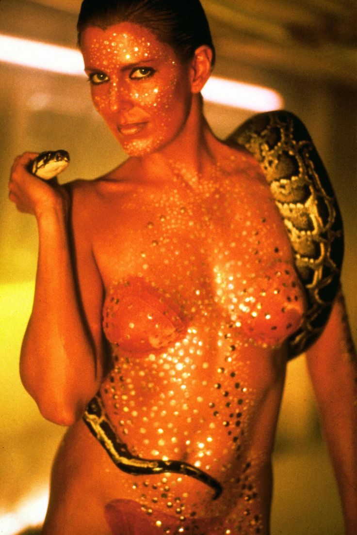 Joanna Cassidy from Blade Runner.