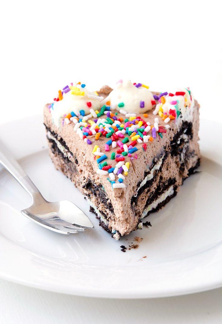 Birthday Cake Oreo Icebox Cake   Sweetest Menu
