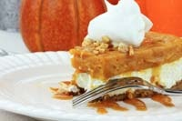 Olive Garden Pumpkin Cheesecake Recipe this is SOOO GOOD!