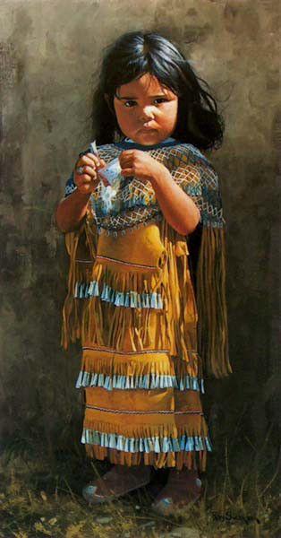Ray Swanson, Little Apache.[www.JamesAFord.com]