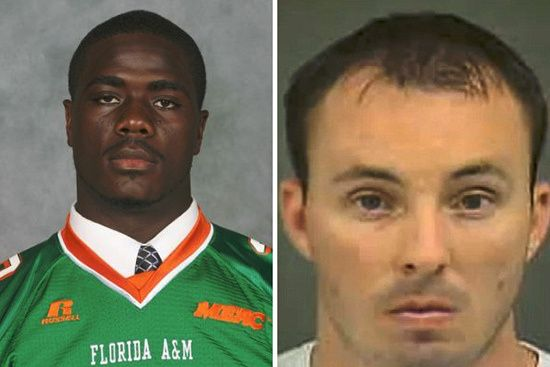 Jonathan Ferrell Ferrell (left) was shot 10 times by Officer Randal Kerrick (right) who thought he was a holding a weapon. The 24-year-old was dropping a friend off when he crashed his car in an unfamiliar neighborhood. Ferrell was not under the influence of drugs or alcohol at the time of his death.