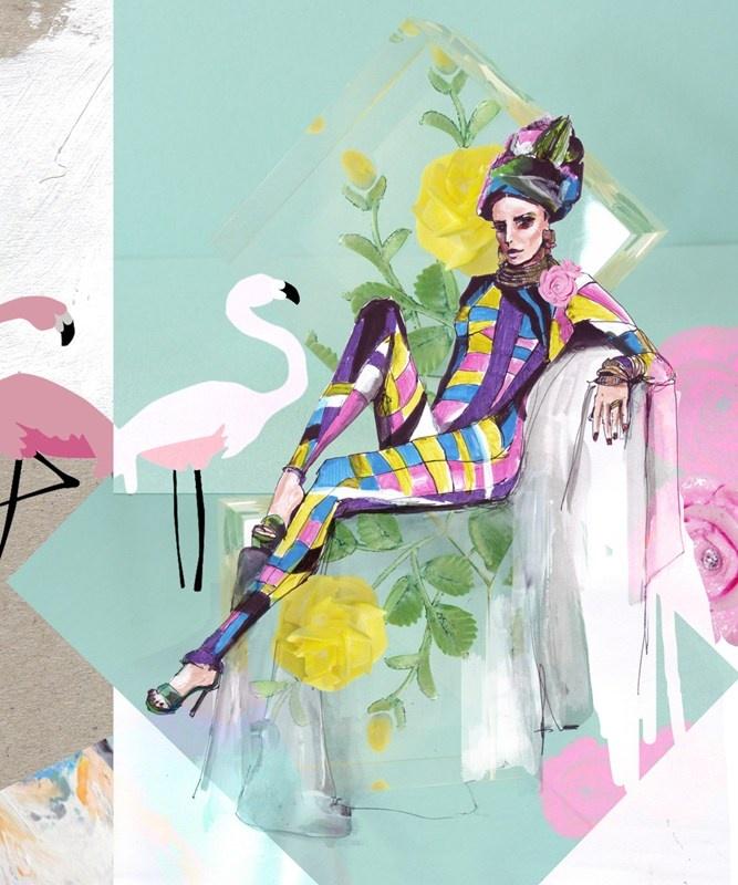 Pucci Vintage bodysuit #spring edit     ©BUKANOVA