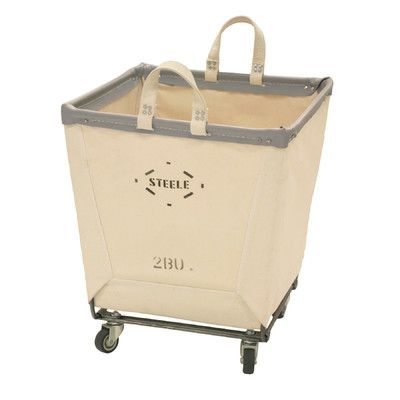 Steele Canvas Square Carry Basket on Casters & Reviews | Wayfair
