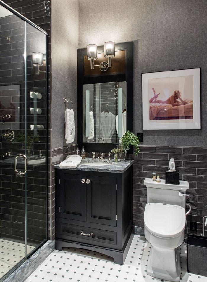 11++ Petite salle de bain gris anthracite ideas in 2021