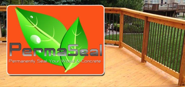 PermaSealUSA  25 yr concrete sealer & wood deck sealer
