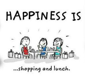 :) Its a great day when you meet friends or family for shopping and lunch !!!  :))