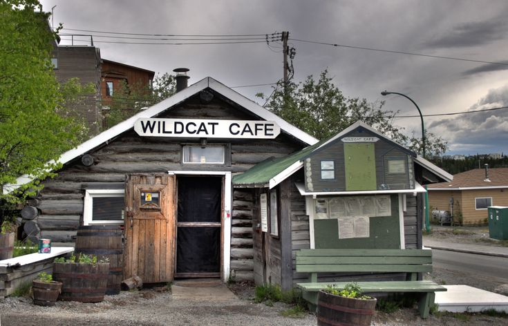 Yellowknife our home, this is the Wildcat Cafe Yellowknife Northwest Territories Canada it should be reopened summer 2013 now that it's renovated!!