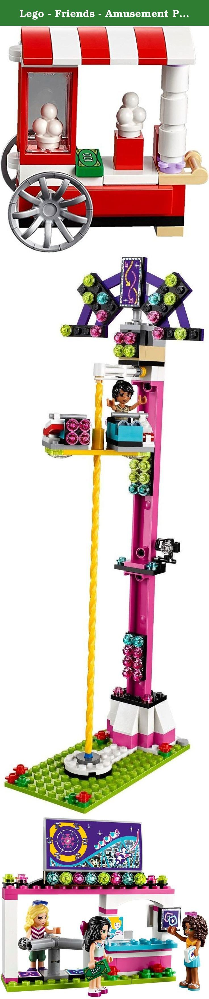 Lego - Friends - Amusement Park Roller Coaster 41130. Lego - Friends - Amusement Park Roller Coaster 41130.