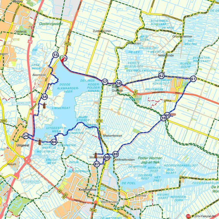 Fietsroute: Pontjesroute (http://www.route.nl/fietsroutes/122513/Pontjesroute/)