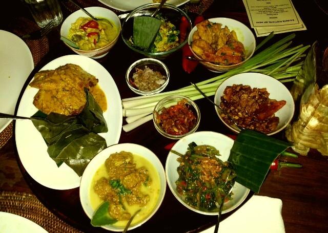 Balinese Food at Rumah Bali Tanjung Benoa