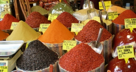 The Spice Market in Instabul!  I could have wandered around here for days!