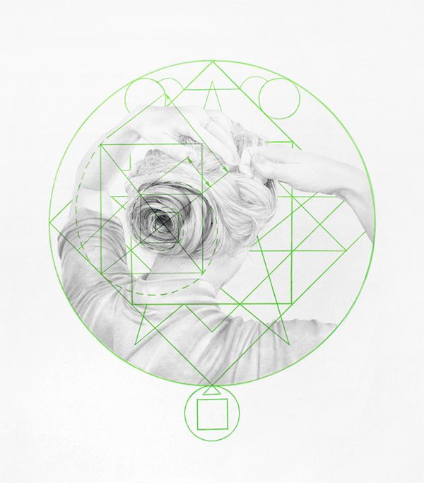 The Inscending Spiral: Drawings III on Behance