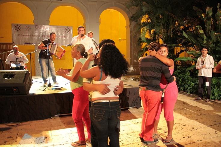 Vallenato y fiesta en el Centro de Formación de Cooperación Española