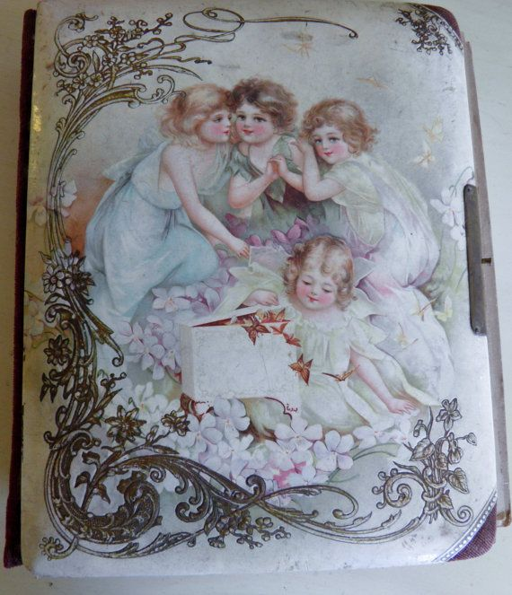 Victorian French Celluloid Picture Album by veryfrenchbydesign, $125.00