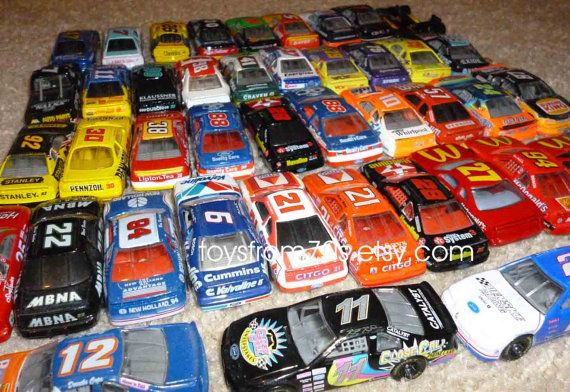 Vintage diecast Indy/Nascar toy collectibles by toysfrom70s.etsy.com