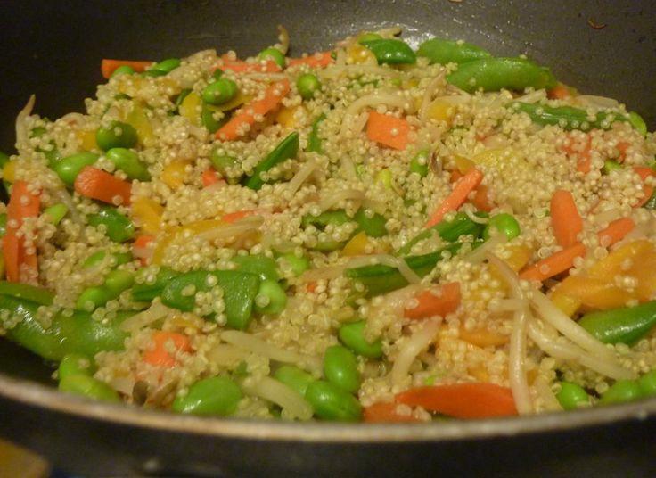 Sauté di quinoa e verdure miste - Le ricette di Mangiare bene