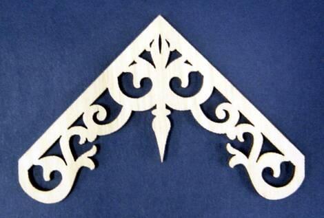 24 best gable decor images on pinterest gable trim for Victorian gable decorations