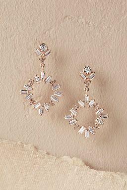 Dangling Circlet Earrings