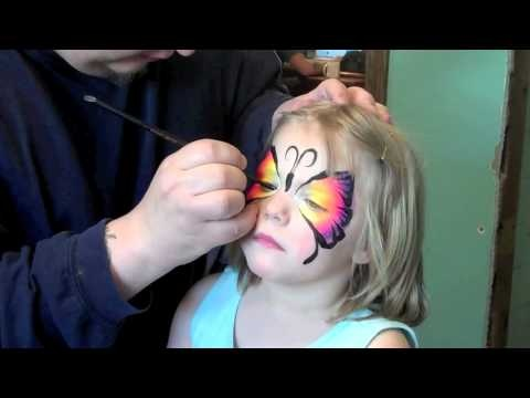 really cool tutorial on face painting