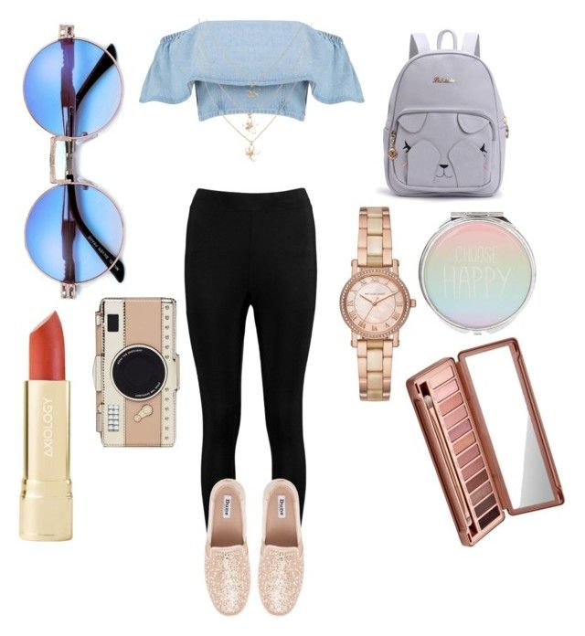 """Shopping day 🎆🛍"" by marango1706 on Polyvore featuring moda, Boohoo, Michael Kors, Urban Decay y Kate Spade"