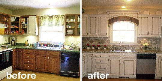 12 best images about out with the old in with the new for Kitchen remake
