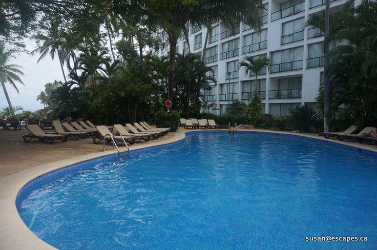 Hyatt Ziva Vallarta, one of the many pools to swim and relax