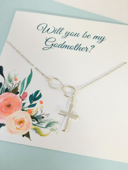 Godmother Necklace Will you be my Godmother Godmother gift...
