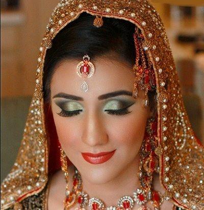 Indian bridal makeup looks inspiration 6