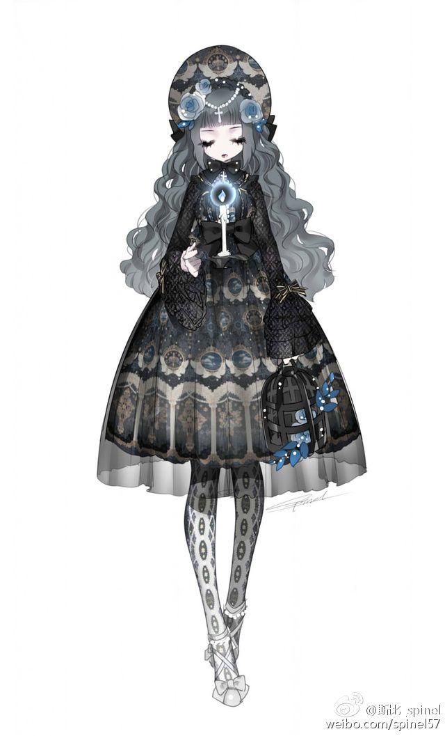 --> Angelic Pretty Celestial JSK --> Source: weibo•com/spinel57
