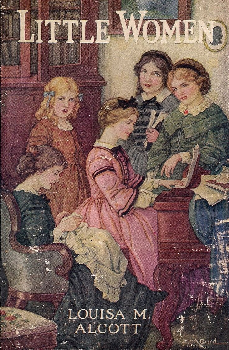 Little Women by Louisa May Alcott.  You should also read her biography, Invincible Louisa.  It's amazing to read about how poor they really were and how they really lived.