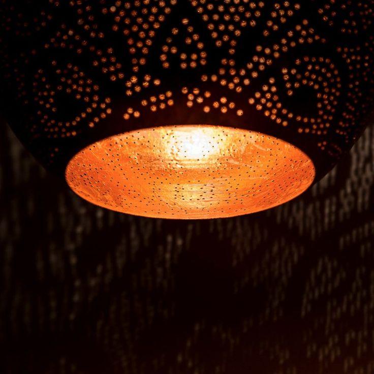 lamp Oosters 1001-nacht koper - de Pauw Wonen