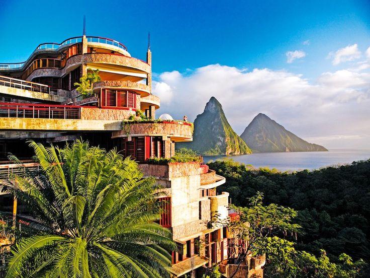 Jade Mountain, St. Lucia: St. Lucia Resorts : Condé Nast Traveler