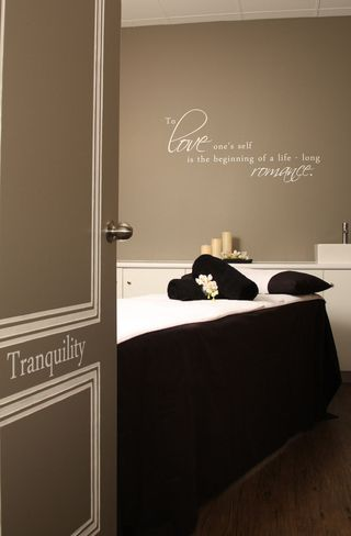 Day Spa Decorating Ideas | the designs really melted into the rooms here are some of the photos ...