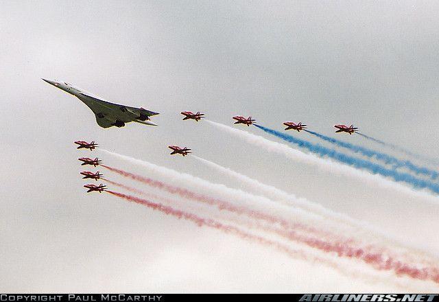 Aerospatiale-BAC Concorde 102 aircraft
