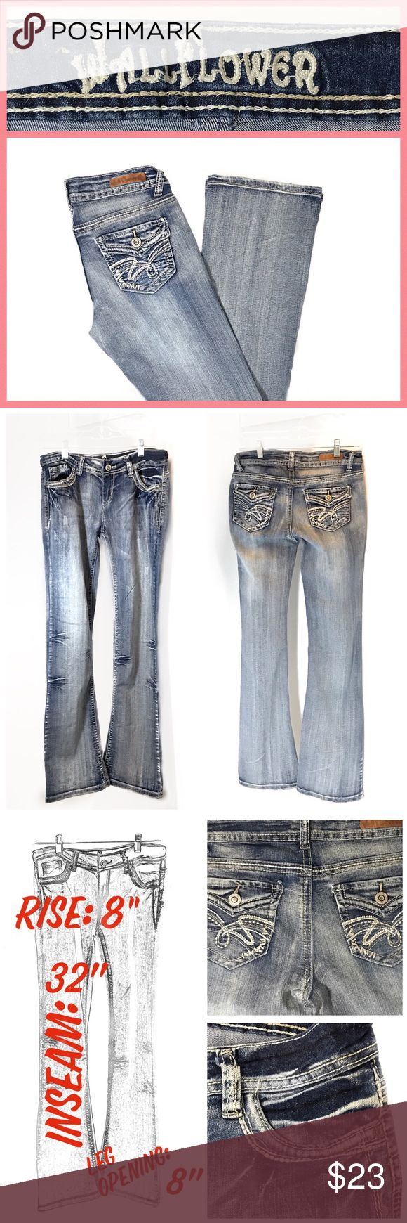 🌸Sz 9 WALLFLOWER Acid Wash Jeans NWOT WALLFLOWER Jeans Legendary Bootcut Acid Wash-NWOT-Purchased last year from Kohl's.  Size-9-Very cute jeans they do have a little stretch to them... ⁃Please see pics for additional info and approx: measurements ⁃Please ask any questions, Thank You!   Happy Poshing! ⁃Deb   @bootz1342 Wallflower Jeans Boot Cut