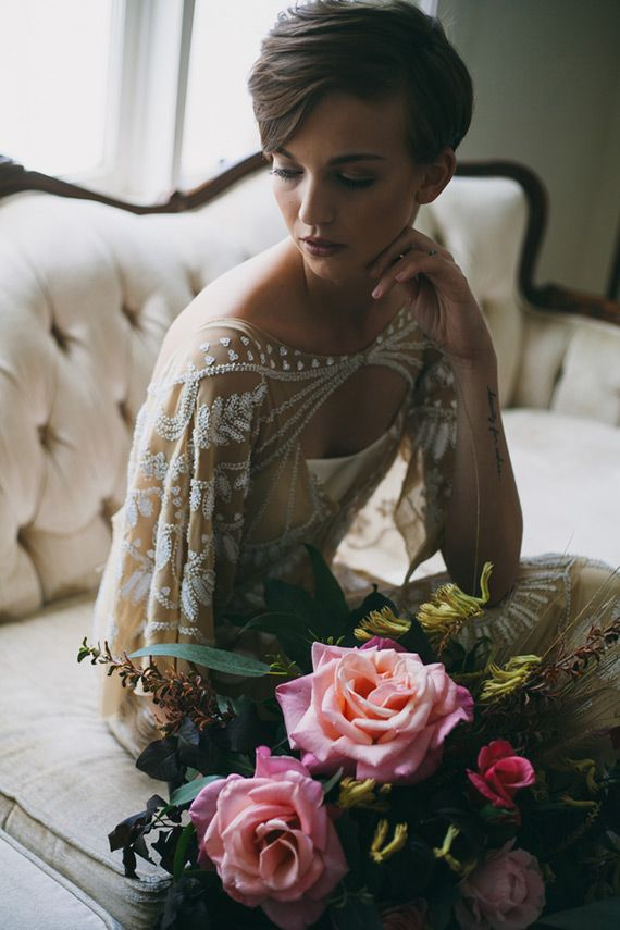 The Alamo Hotel wedding inspiration   Photo by Alexandra Wallace   Read more - http://www.100layercake.com/blog/wp-content/uploads/2015/02/The-Alamo-Hotel-wedding-inspiration
