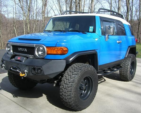 "2007 VooDoo Blue - 6"" Lift & 35"" Tires - Toyota FJ Cruiser Forum"