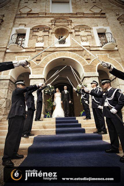 #boda #policia #foto #original #photography #creative #police #wedding www.estudiojimenez.com