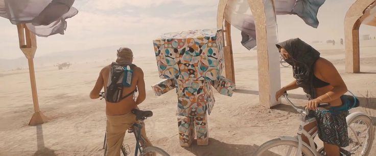 Visuals: Sander van Doorn's Burning Man in 195 Seconds