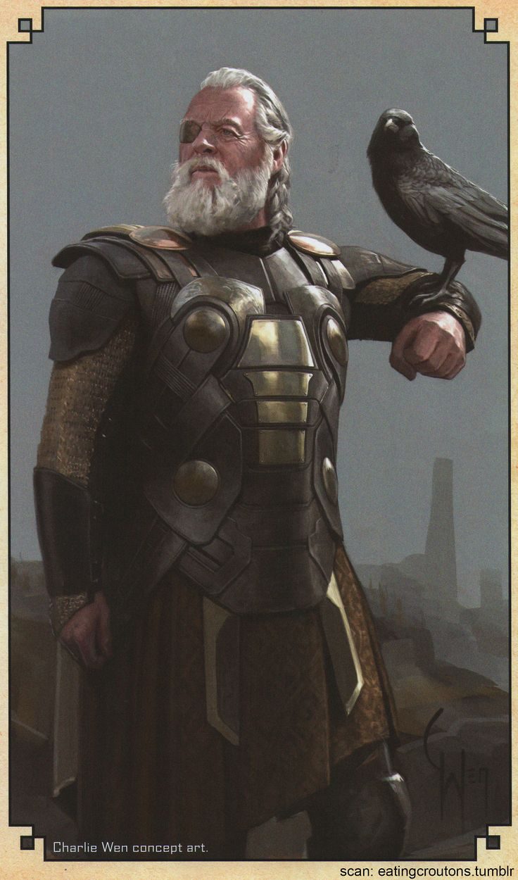 Odin - Character concept art from Thor: The Dark World - The Art of the Movie