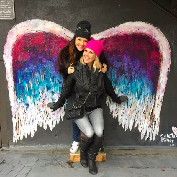 The Instagrammers Guide to Washington, DC | Best Photo-Ops In Washington, DC | Visiting DC | Embassy Row Hotel | Colette Miller's Angel Wings Street Art Project