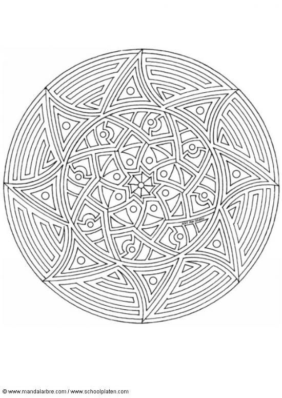 430 Best Mandala Images On Pinterest
